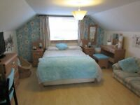 Huge Double room to rent in quiet area near Turriff with parking and No Bills