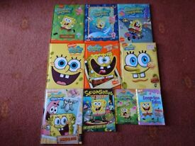 10 Spongebob Squarepants Books