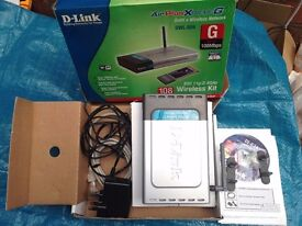 D-Link DWL-92X Wireless Router 108Mbps Network Access Internet Online (not netgear, Linksys, Asus )