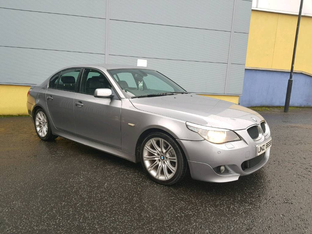 2007 BMW 520D M SPORT with alloys