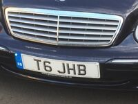 Number Plate for sale T6 JHB. VW day van etc