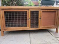 GUINEA PIG HUTCH WITH ACCESSORIES