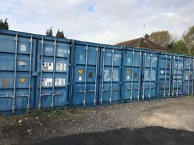 Secure Container Storage 20ft - Jct 13 M25 Household Vehicle Business Self Storage Shipping