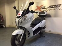 Honda S Wing 125cc Automatic Scooter, 1 Owner, ABS, Back Box, V Good Cond, ** Finance Available **