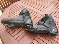 Sidi shorty boots