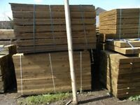 Timber jump pole 100mmx2.4m