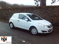 2008 57 Vauxhall Corsa Van 1.3 Diesel - Only 57000 Miles - Full Service History - 9 Stamps in Book