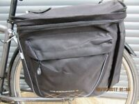 NEW QUALITY BIKE PANNIER SET NEVER FITTED, NOW SURPLUS TO REQUIREMENTS..