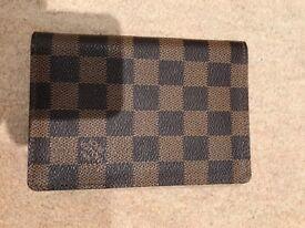 Louis Vuitton Passport and card Wallet