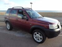 Land Rover Freelander 1.8 E 5 door. New MOT, towbar, 4x4, good body work