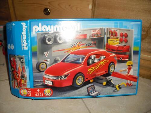 playmobil rennwagen mit werkstatt 4321 in rheine. Black Bedroom Furniture Sets. Home Design Ideas
