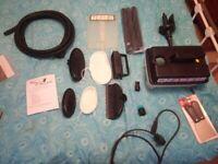 Earlex steamer model sc75 + accessories