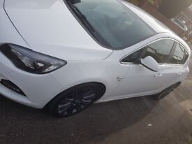 2012 White Vauxhall Astra Vx-Line - full service history. recently serviced/painted/alloys buffed