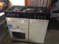 Belling sandringham 90cm Duel fuel range cooker