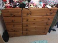 Kids wooden dresser