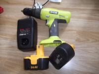 14.4 volt Ryobi drill