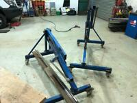 Vehicle rollover jig,chassis tilter