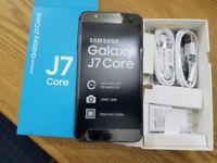 New Samsung Galaxy J7 Core 2017 (Unlocked) - 16GB Dual SIM 4G LTE phone