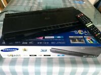 Samsung Smart 3D Bluray Player - UHD upscaling, Smart apps, 7.1 Ch audio output