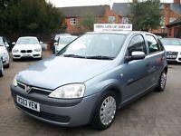 Vauxhall Corsa 1.2 i 16v Elegance 5dr 2003 (03 reg), Hatchback , SILVER, 5 IN STOCK, BARGAIN