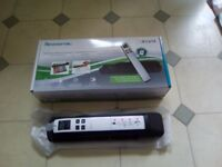Handheld wand scanner