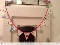 New New York single duvet and matching bunting