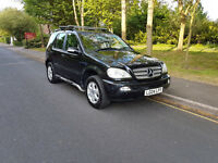 2004 Mercedes ML270 Cdi (Diesel) 7 Seater - Automatic - Rare Specifcation