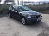 2008/08 BMW 118D SE LONG M.O.T £30 ROAD TAX GREAT SPEC GOOD MILES VERY CLEAN EXAMPLE...