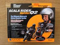 Cardo Scala Rider Multiset Q2, bluetooth headset, rider to rider/passenger