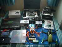 SWAP Radio Control RC Drone Quadcopter Transmitter Taranis Turnigy Job Lot