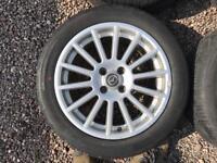 Fox racing wheels 4x100 Mazda, VW, Vauxhall, Renault pcd