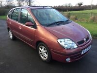 NOW SOLD 2002 Renault Megane Scenic 1.9DTI Expression 1yrs mot 1 owner only 69k
