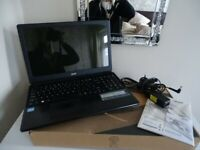 Acer Aspire E1-570 Laptop - Black - Complete with Box - Barely used - Liverpool Pick Up