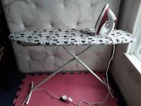 Prolex prosteam 2000W steam/dry iron & ironing board