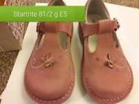 Startrite pink shoes size 81/2g