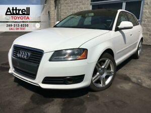 2009 Audi A3 HATCHBACK PANO SUNROOF, ALLOYS, FOG, LEATHER, ABS,