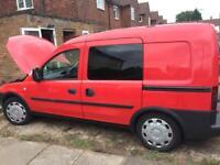 1.3 cdti Vauxhall combo van 5 seats crew cab