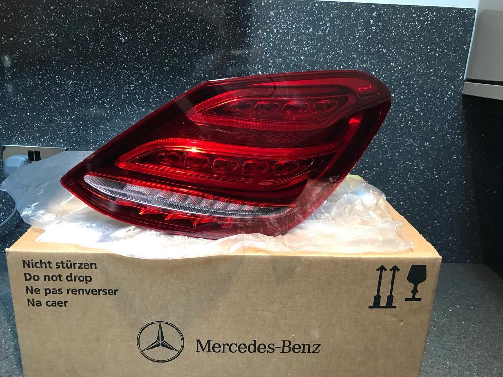 Genuine Mercedes E Class W213 Facelift LED Rear Drivers Side Light 2016-2017-