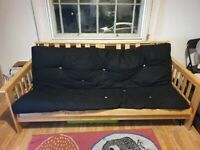Double futon sofa bed frame