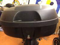 USED KAPPA K960N 44L HARD MOTORCYCLE TOP BOX FITS GIVI MONOKEY PLATE
