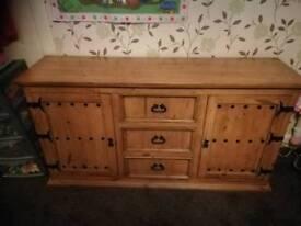 Solid wood furniture, sideboard, bookcase,bedside table