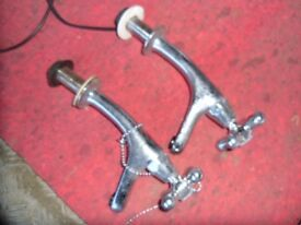 boat parts 1 pair of chrome taps