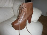 Womens heeled booties for sale