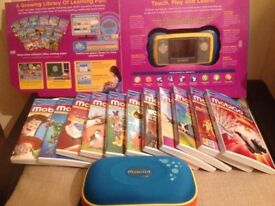 Vtech Mobigo Bundle with Original Box, 12 Games and Case
