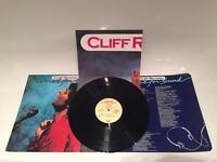 Cliff Richards - Wired for sound, autographed twice on vinyl cover and poster