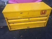 Snap on Par X 3 drawer small top box tool box with all tools job lot