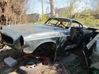 Volvo 1800S sports coupe for spares/restoration