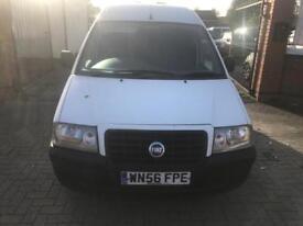 Fiat Skudo. 1.9D 2006, 12 months MOT. Side loading doors, ready for work, cheap van.