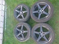 Audi 5 spoke alloys