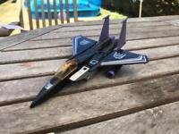 Transformers G1 Collectable Action Figure - Skywarp jet